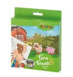 Lote de plástico mágico shrinkles® - La granja