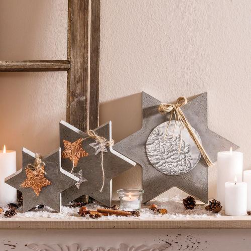 Die sch nsten bastelideen f r advent und weihnachten - Knetbeton anleitung ...