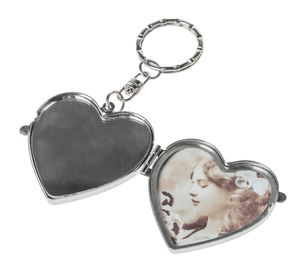 Metal Key Ring - Heart