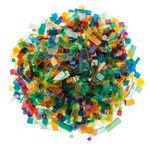 Mosaico acrílico Luzy (500 g) colores surtidos