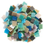Mosaik Murano, 500 g bunt-mix         (20 x 20 mm)