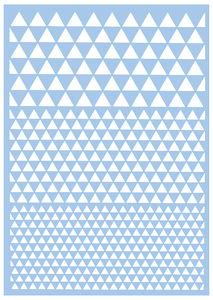 Sjabloon 'Driehoek', A3 formaat