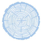 Schablone Baumscheibe          (14,7 x 14,7 cm)