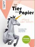 Craft Kit - Paper Animal - Horse or Unicorn