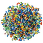 Mosaik-Millefiori, 100 g bunt-mix (4 - 5 mm)