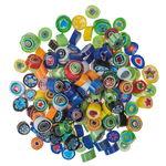 Mosaik-Millefiori, 100 g bunt-mix (9 - 10 mm)