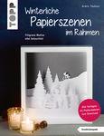 Duits boek: Winterliche Papierszenen im Rahmen