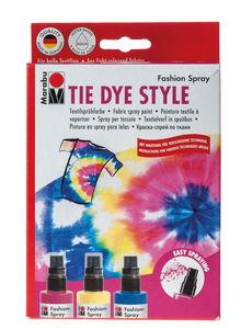 Fashion-Spray Marabu, TIE DYE STYLE (3 x 100 ml)
