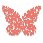 Sizzix® Thinlits[TM] Die - Floral Butterfly