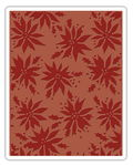 Sizzix Text. Embossing Schablone-Poinsettias