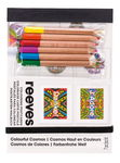 Reeves kaarten - kleurrijke wereld, + 6 potloden