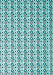 Papier Gluepatch, Mandala, bleu/turquoise