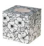 Box per cosmetici - Doodle Art, bianco/nero