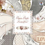 Cartoncino con motivi, butterfly, 305x305mm, 24 f
