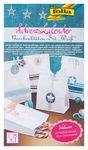 Calendario d'Avvento - sacchetti di carta bianchi