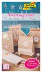 Calendario d'Avvento - sacchetti di carta marroni