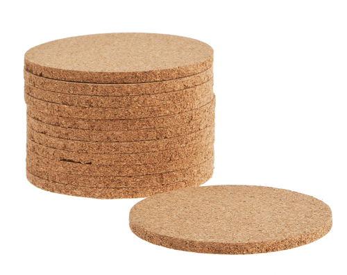 Dischi di sughero 85 x 6 mm 12 pezzi opitec for Dischi di legno