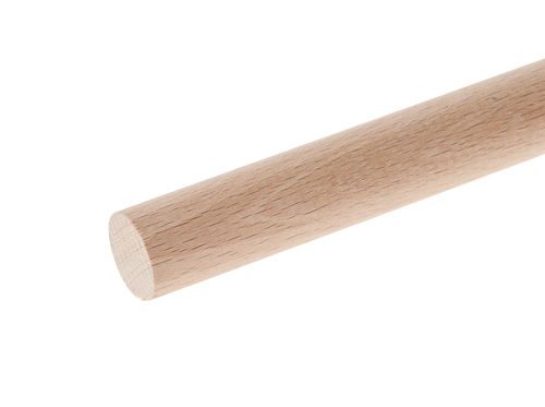 Baguettes rondes en h tre bois dur 10 mm opitec - Baguette bois ronde ...