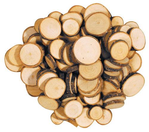 Dischi di legno 10 30mm 5mm ca 100 pezzi opitec for Dischi di legno