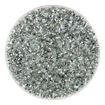 Acryl chatons (2,8 mm) 10 g, kristal beslagen