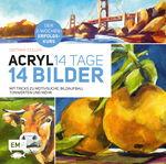 Duits boek: ACRYL: 14 TAGE - 14 BILDER