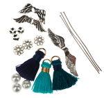 Craft Set - Tassel Guardian Angel, Shades of Blue