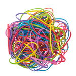 Elastici, vari colori forti (neon), set da ca.125