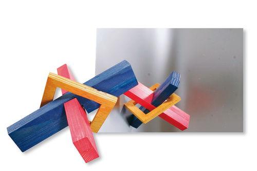 Miroir en verre acrylique format a5 opitec for Miroir acrylique incassable