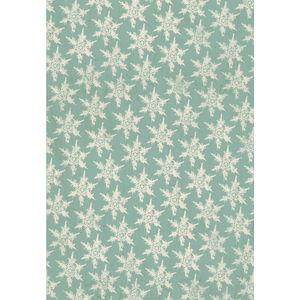 Decoupage papier 'Snowflakes',(26x37,5) 3 vellen