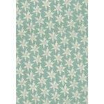 Decoupage-Papier, 3 Bogen Blue Snowflake (26x37,5)