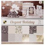 Blocco con motivi - Elegant Holiday, 48 fogli