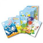 PlayMais® grande poster paesaggi, 28 fogli