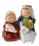 Resina - Santa Famiglia con pecora
