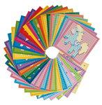 PlayMais® mosaico set di schede, set da 36