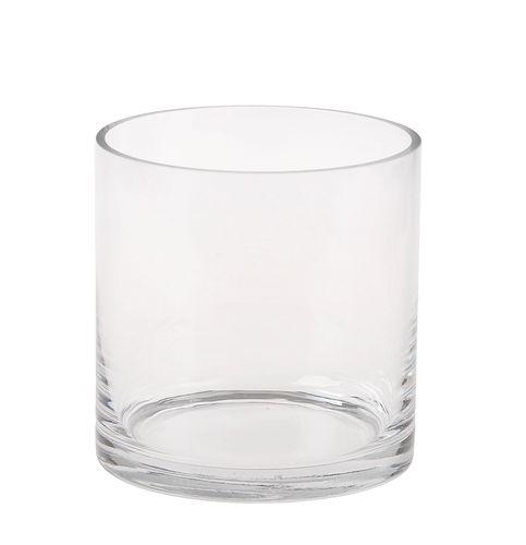 vase cylindrique en verre 12x12cm pce opitec. Black Bedroom Furniture Sets. Home Design Ideas
