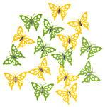 Papillons en feutrine & strass, Dim. ...,