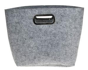 Filztasche mit Tragegriff, grau (37 x 20 x 32 cm)