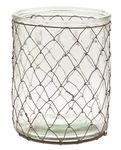 Glas-Windlicht (12,5 x 15,5 cm)