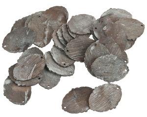 Ciondoli di legno, da appendere,