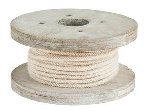 Cordón en bobina de madera (2 mm x 4 m) natural