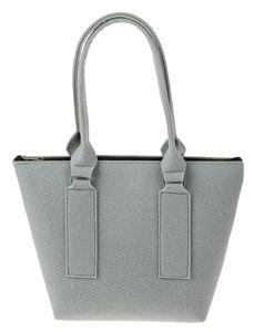 Bolso de fieltro, gris claro (360 x 110 x 270 mm)