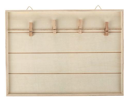 Legno cornice per stendere foto opitec for Cornice foto legno