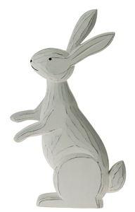 Legno - coniglio, bianco, 1 pezzo