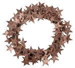 Corona decorativa, con stellette di betulla,