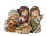 Resina - Santa Famiglia con angelo