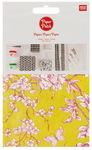 Papier Patch, 26 g/m2,..., Fleurs en bois