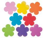 Moosgummi - fiori, colori assortiti