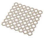 Houten platen 'Oosters' (30x30x0,25 cm) 2 stuks