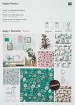 Bloc con motivos Rico Design®  - Flores hygge