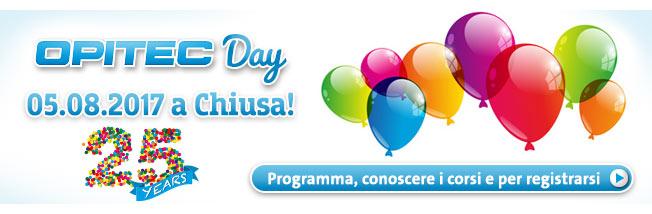 OPITEC Day - 05.08.2017 a Chiusa